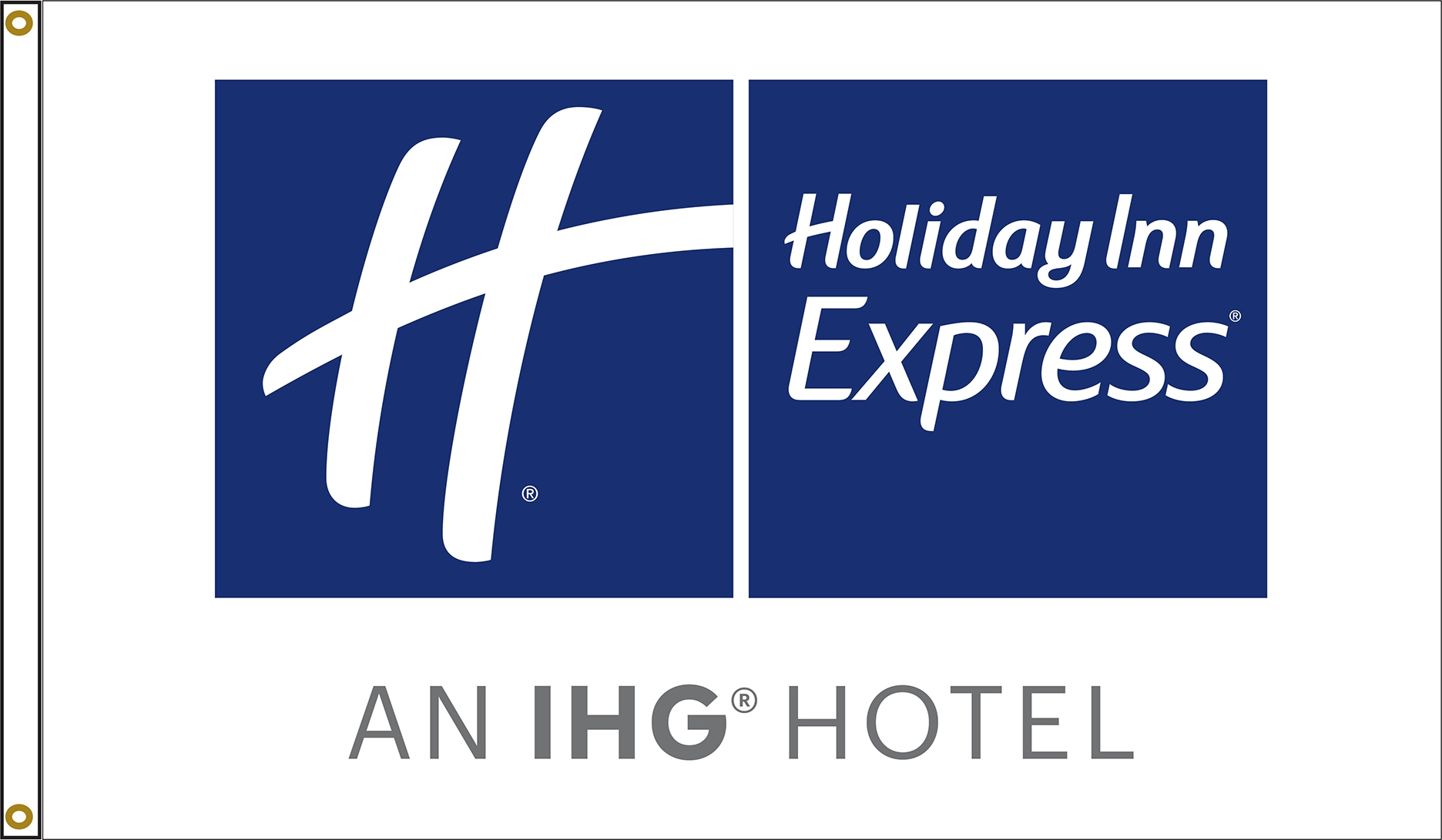 Holiday Inn Express Flags