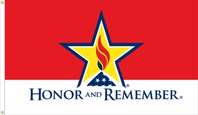 3' x 5' Honor and Remember Flag