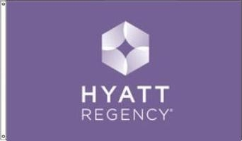 Hyatt Regency Purple Flag