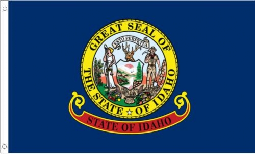 Idaho State Flag, Nylon