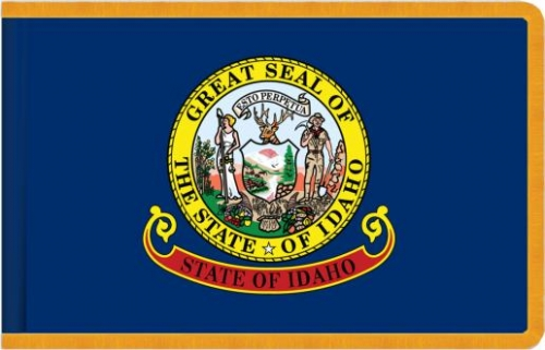 Indoor Idaho State Flag, Nylon
