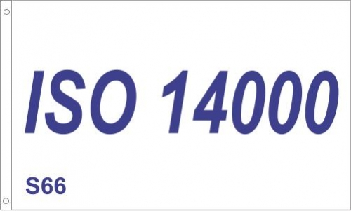 ISO 14000 Flag