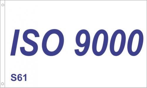 S61 ISO 9000 Flag
