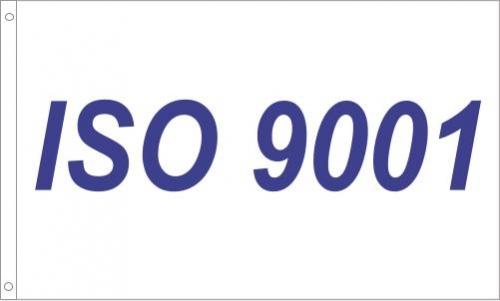 S62 ISO 9001 Flag