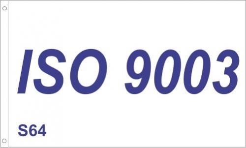 S64 ISO 9003 Flag