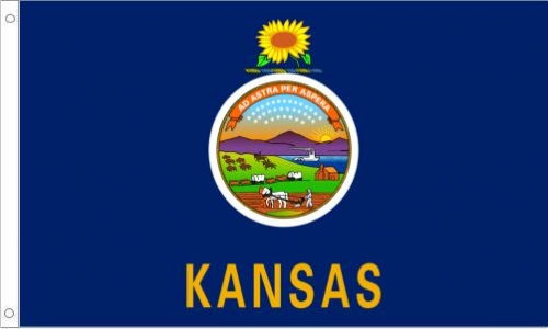 Kansas State Flag, Nylon