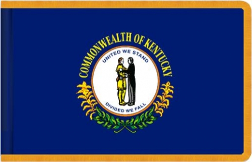 Indoor Kentucky State Flag, Nylon