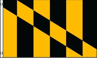 Lord Baltimore Flag, 3' x 5' Nylon Flag