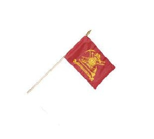 "12"" x 18"" Firefighter ""Loyal to Our Duty"" Stick Flags"