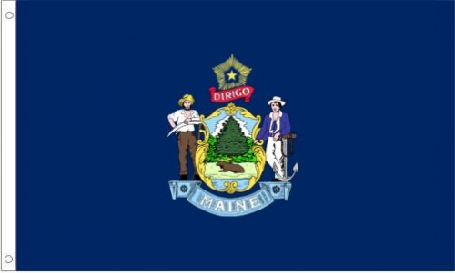 Maine Flag, Nylon