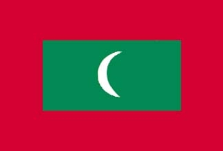 Maldives, Maldivian Flag