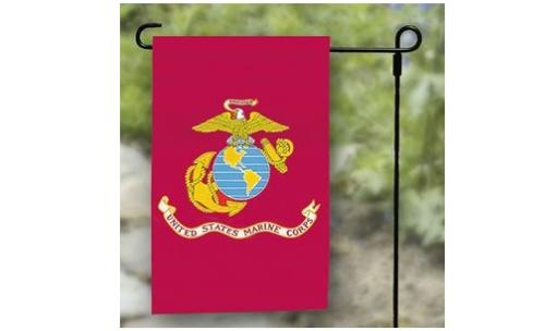 "12"" x 18"" Marine Corps Garden Flag"