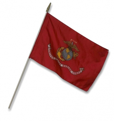 "12"" x 18"" Marine Stick Flag"