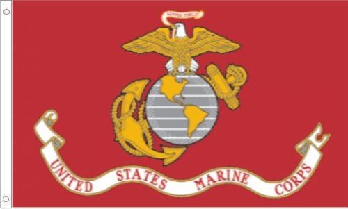US Marine Corps, H & G, Nylon Flags