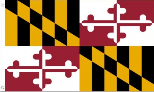 Maryland State Flag, Polyester