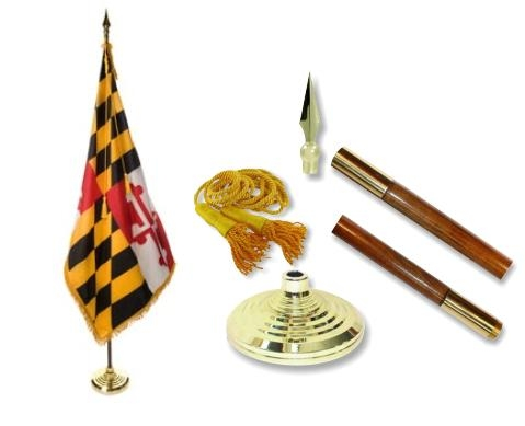 Maryland Indoor Flag Set
