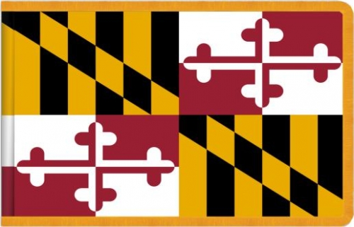 Indoor Maryland State Flag, Nylon