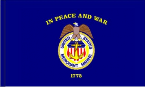 US Merchant Marine Indoor & Parade Flags