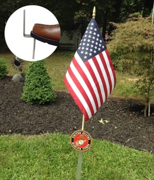 Marine Corps Flag Holder