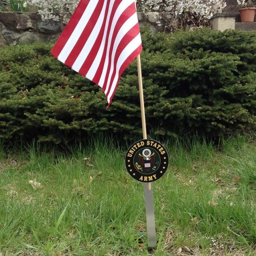 Army Flag Holder