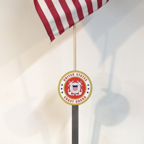 Coast Guard Flag Holder