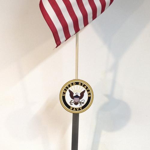 Navy Flag Holder