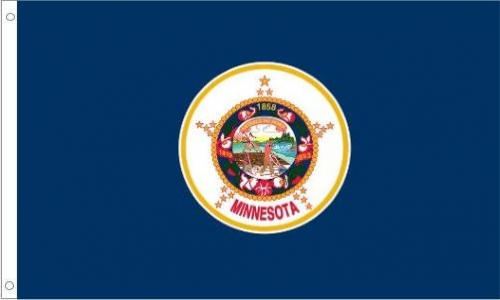 Minnesota Flag, Nylon