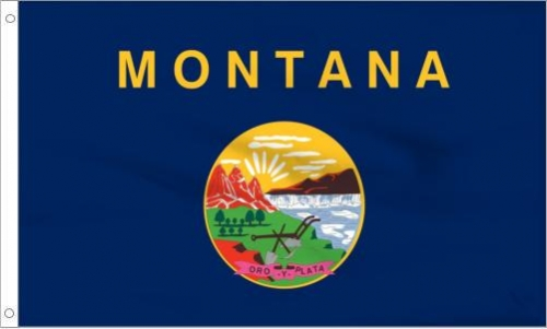 Montana State Flag, Polyester