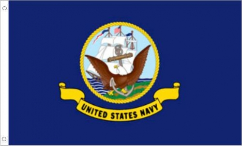 US Navy, H & G, Nylon Flags