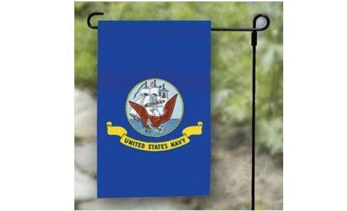 "12"" x 18"" US Navy Garden Flag"