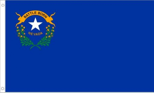 Nevada Flag, Polyester