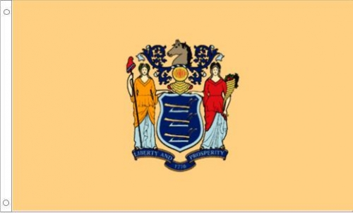 New Jersey State Flag, Nylon