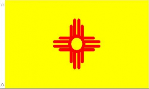 New Mexico Flag, Nylon