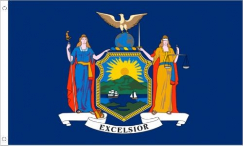 New York Flag, Polyester