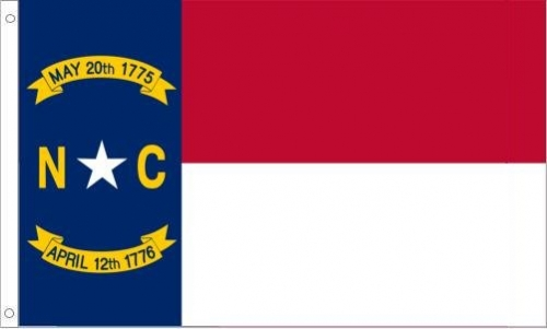 North Carolina State Flag, Polyester