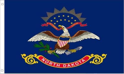 North Dakota State Flag, Nylon