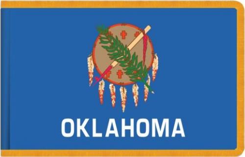 Oklahoma State Flag, Nylon
