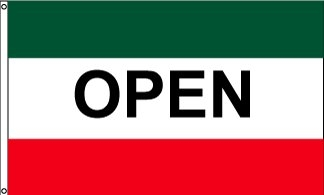 Open GWR Horizontal Message Flag