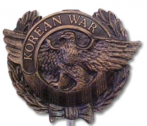 Korean War Plastic Grave Marker