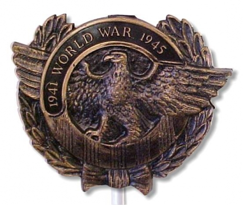 World War II Plastic Grave Marker