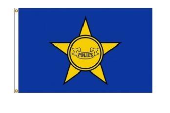 3' x 5' Police Department Nylon Flag