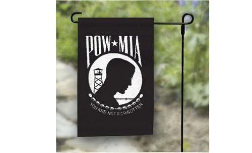 "12"" x 18"" POW MIA Garden Flag"