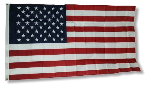 3' x 5' Poly-Cotton/Ultra Knit Printed Flag