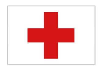 3' x 5' Red Cross Nylon Flag