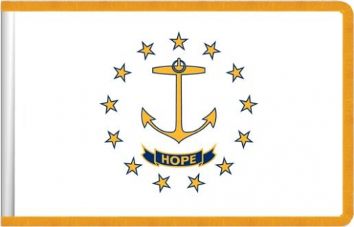 Indoor Rhode Island State Flag, Nylon