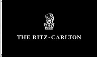 Ritz Carlton Printed Flag