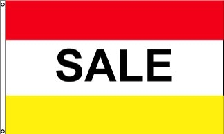Sale RWY Horizontal Message Flag
