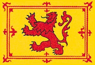 Scotland, Scottish Rampant Lion Flag