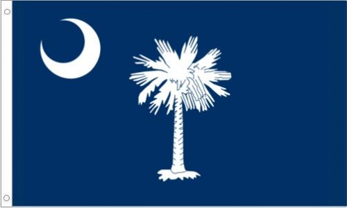 South Carolina Flag, Polyester