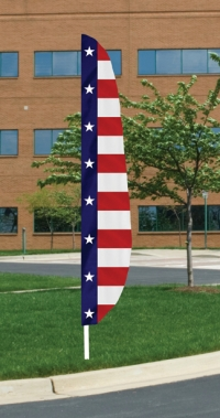 Stars & Stripes II Nylon Blade Feather Flag